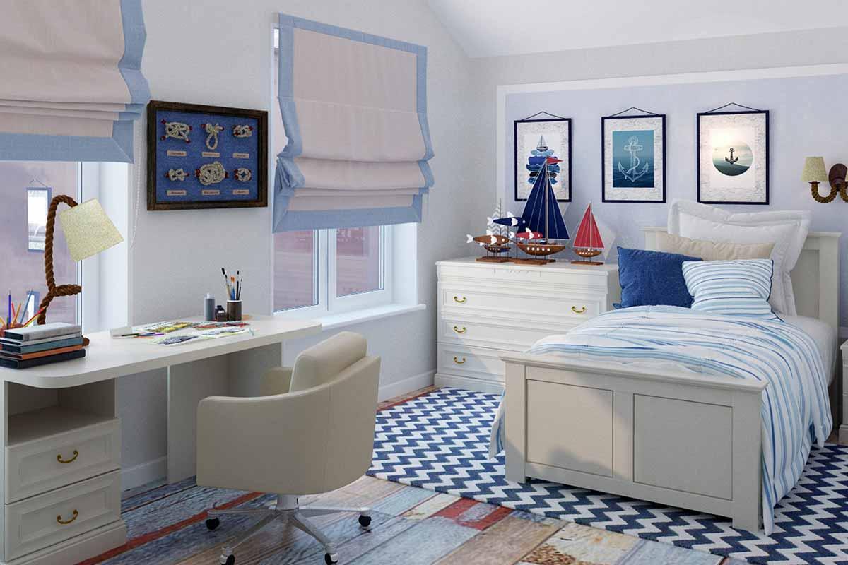 Kinderzimmer-Designer-Regale